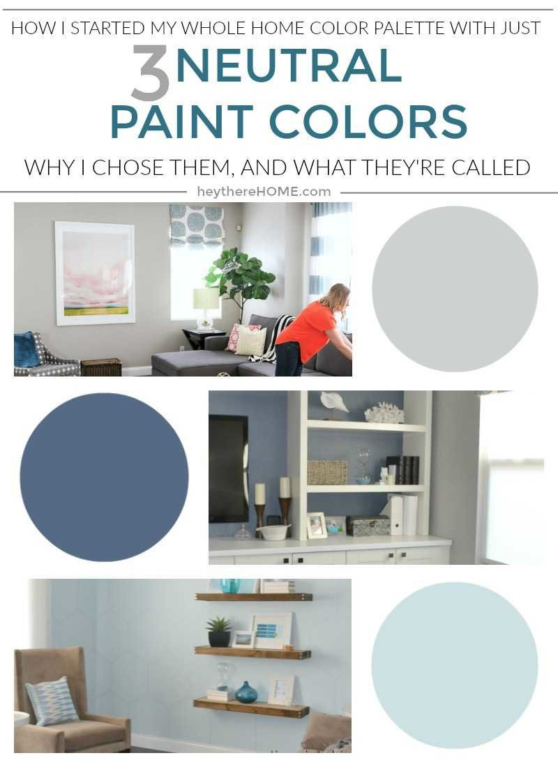 Best ideas about Neutral Paint Colors . Save or Pin The neutral paint colors in my whole home color palette Now.