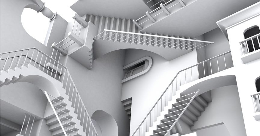 Best ideas about Never Ending Staircase . Save or Pin FACT CHECK Escherian Stairwell Now.