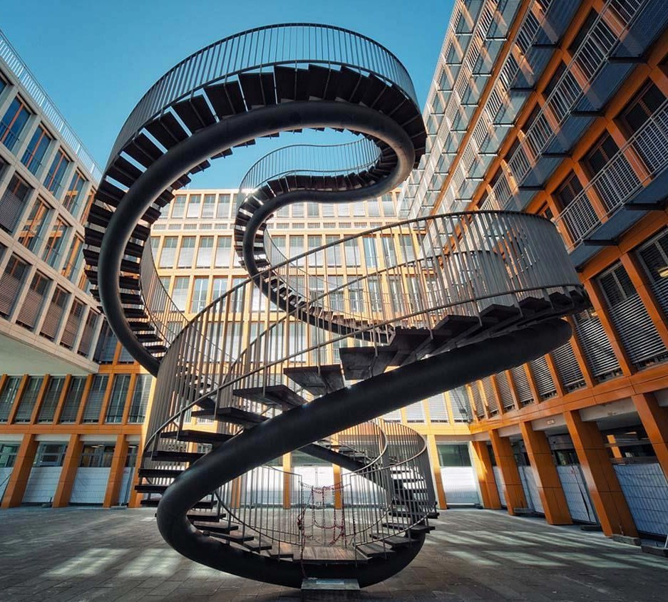 Best ideas about Never Ending Staircase . Save or Pin The Infinite Staircase by Olafur Eliasson in Munich Now.