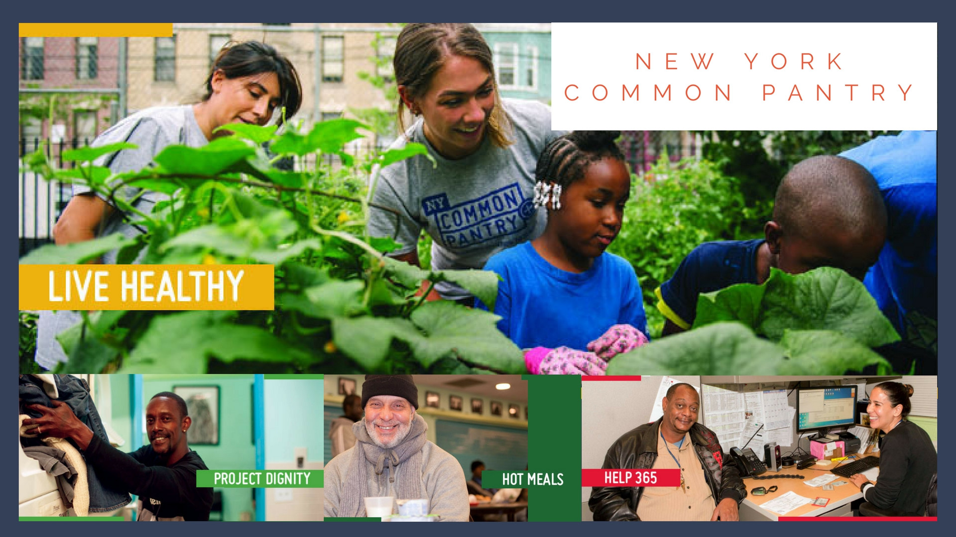 Best ideas about New York Common Pantry . Save or Pin November Seva Spotlight New York mon Pantry Five Now.