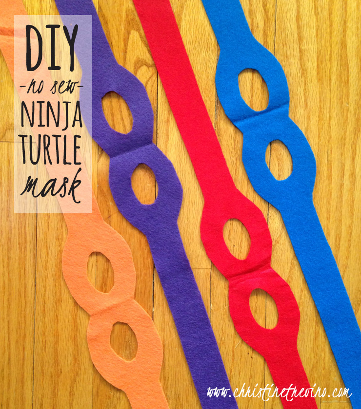 Best ideas about Ninja Turtle Masks DIY . Save or Pin DIY Ninja Turtle Mask [FREE Printable Pattern] Now.