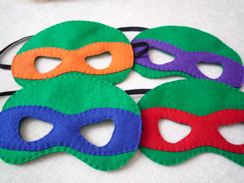 Best ideas about Ninja Turtle Masks DIY . Save or Pin Felt Ninja Turtle Mask Now.