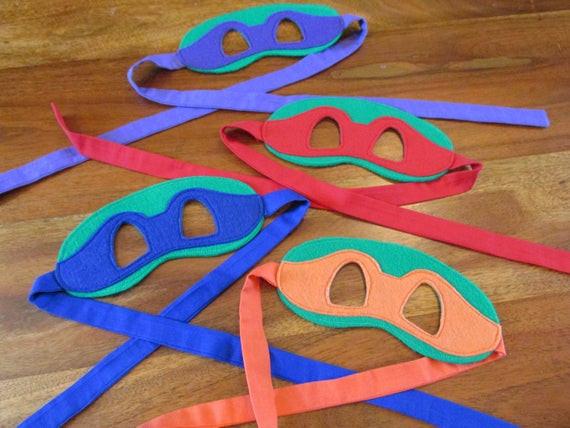 Best ideas about Ninja Turtle Masks DIY . Save or Pin Items similar to Teenage Mutant Ninja Turtles Masks Now.