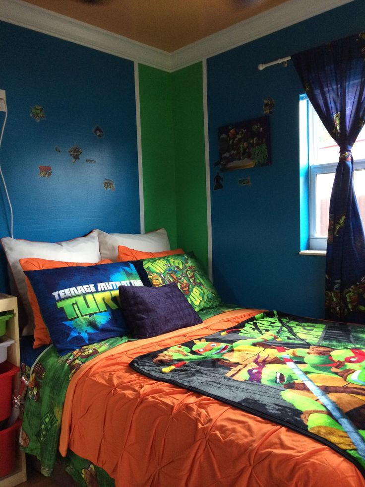 Best ideas about Ninja Turtles Bedroom Decorations . Save or Pin 17 Best images about TMNT Room on Pinterest Now.