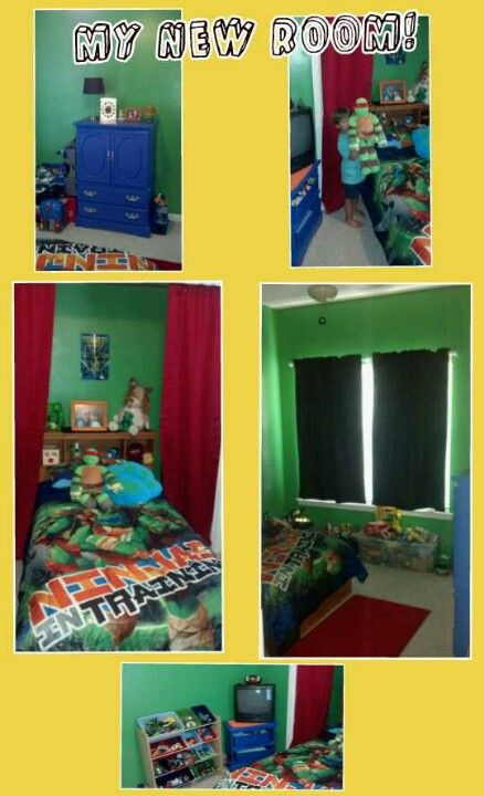 Best ideas about Ninja Turtles Bedroom Decorations . Save or Pin Teenage Mutant Ninja Turtles bedroom for my 4 year old Now.