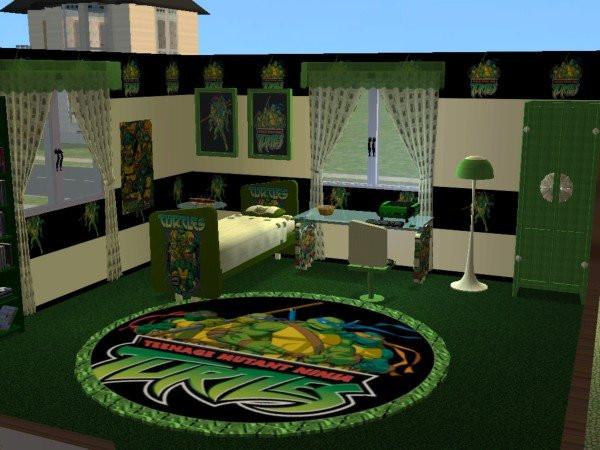 Best ideas about Ninja Turtles Bedroom Decorations . Save or Pin Mod The Sims Teenage Mutant Ninja Turtles Nursery and Now.