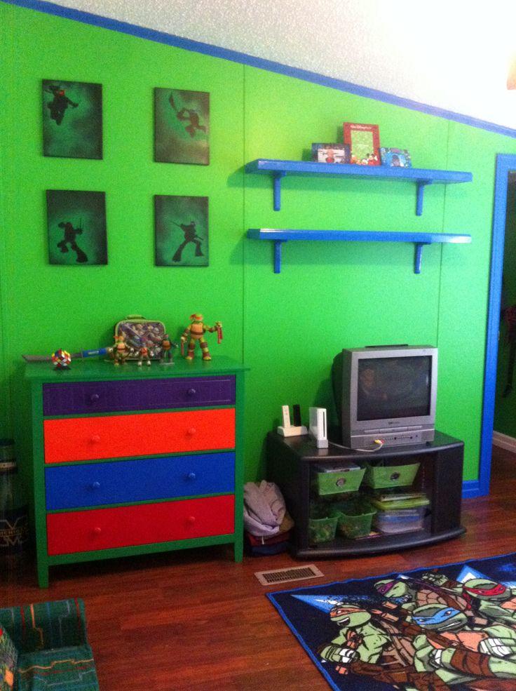 Best ideas about Ninja Turtles Bedroom Decorations . Save or Pin 25 best ideas about Ninja turtle room on Pinterest Now.