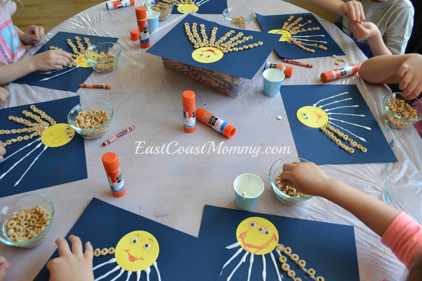 Best ideas about Number Crafts For Preschoolers . Save or Pin East Coast Mommy Number Crafts Number EIGHT Eight Now.