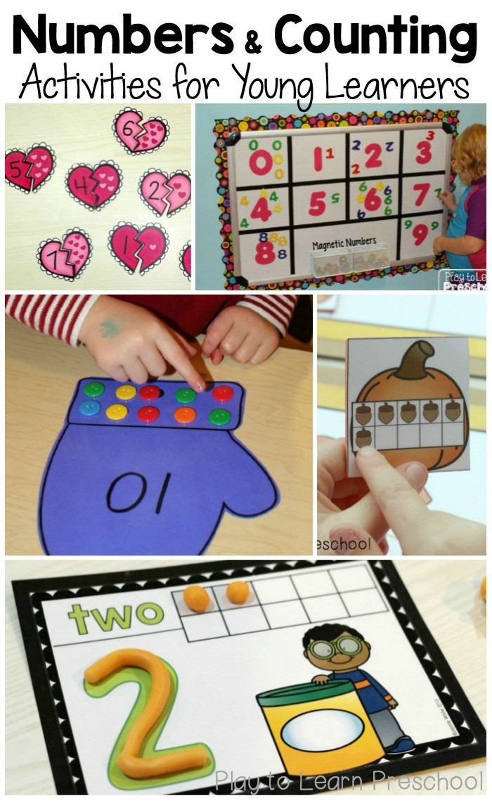 Best ideas about Number Crafts For Preschoolers . Save or Pin Favorite number activities for preschoolers The Measured Mom Now.