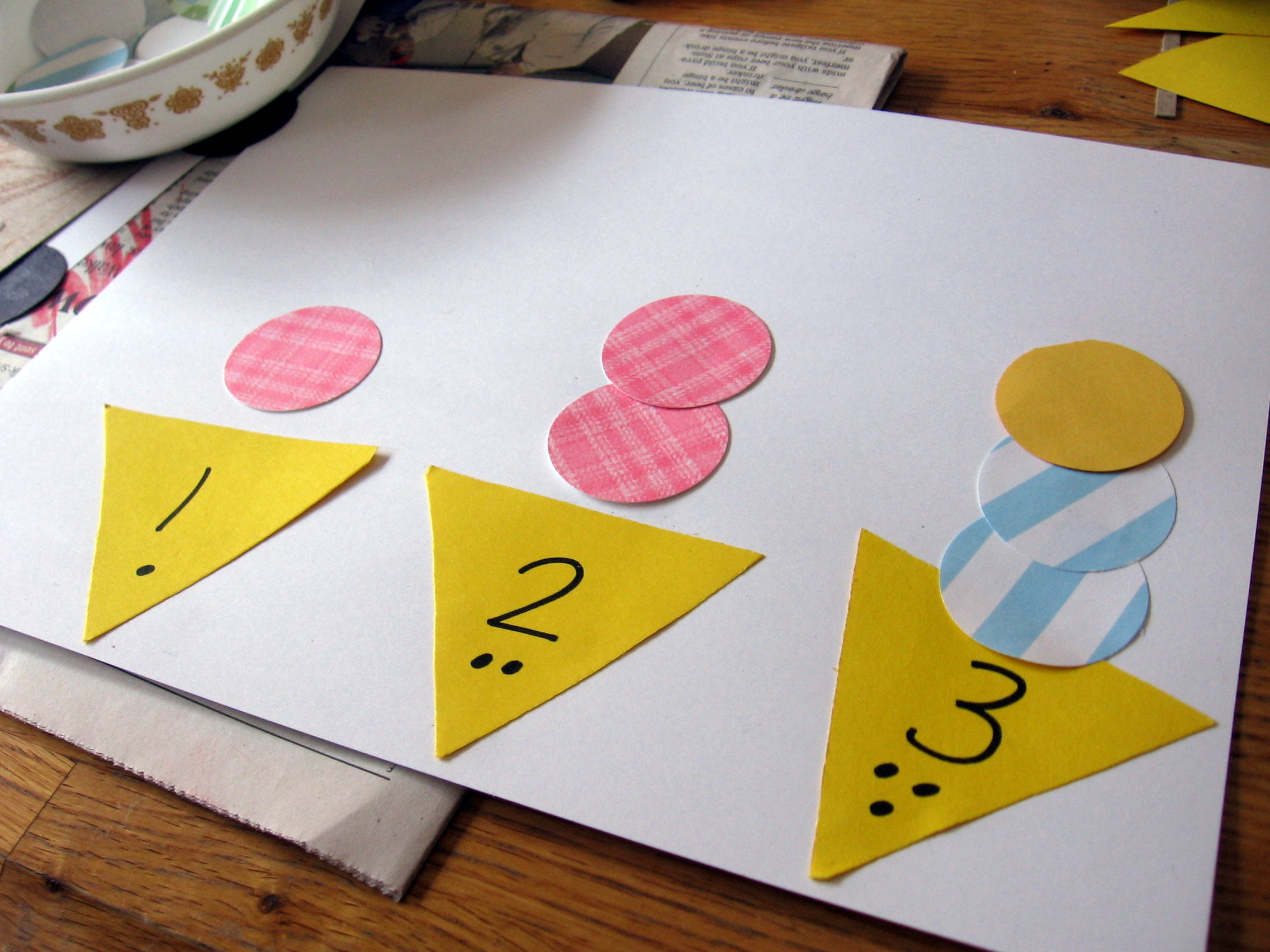 """Best ideas about Number Crafts For Preschoolers . Save or Pin Hands on Math for Preschool The Letter """"I"""" The Measured Mom Now."""