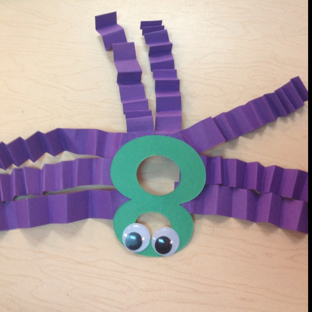 Best ideas about Number Crafts For Preschoolers . Save or Pin Best 25 Number 8 ideas on Pinterest Now.