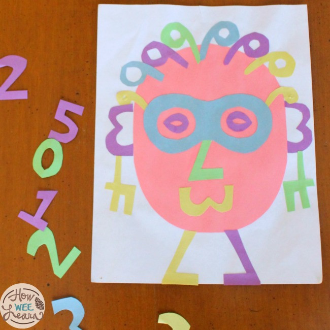 Best ideas about Number Crafts For Preschoolers . Save or Pin Nancy Number Face How Wee Learn Now.