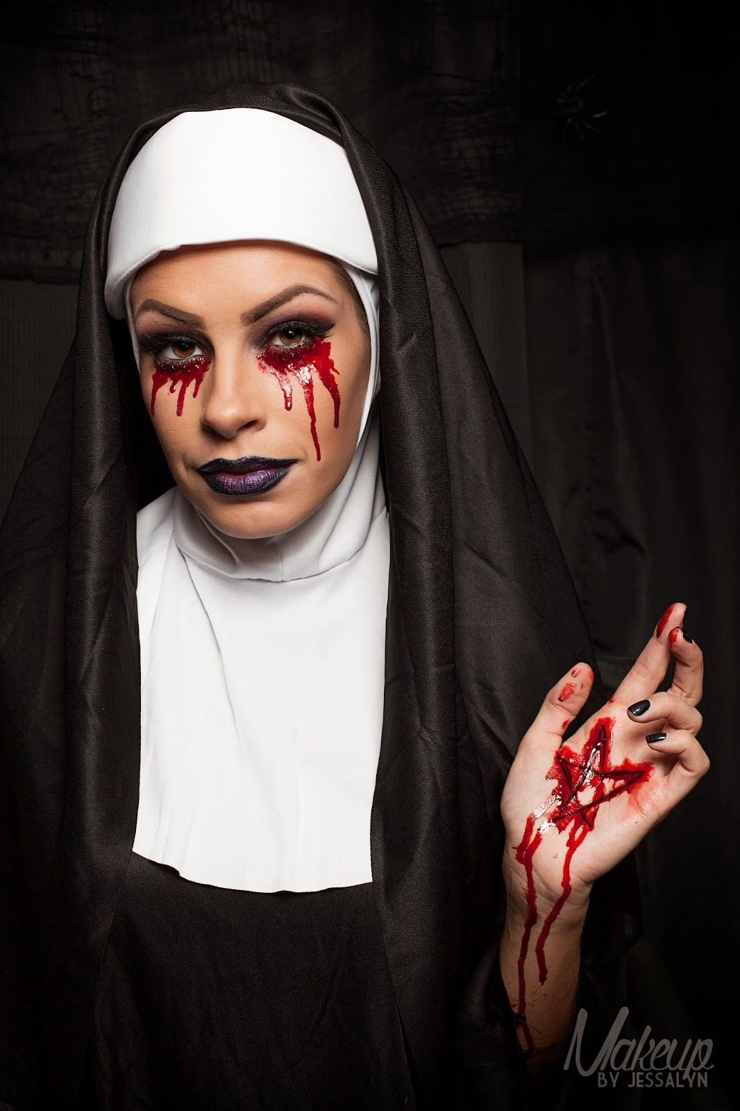 Best ideas about Nun Costume DIY . Save or Pin scary nun makeup Google Search Now.
