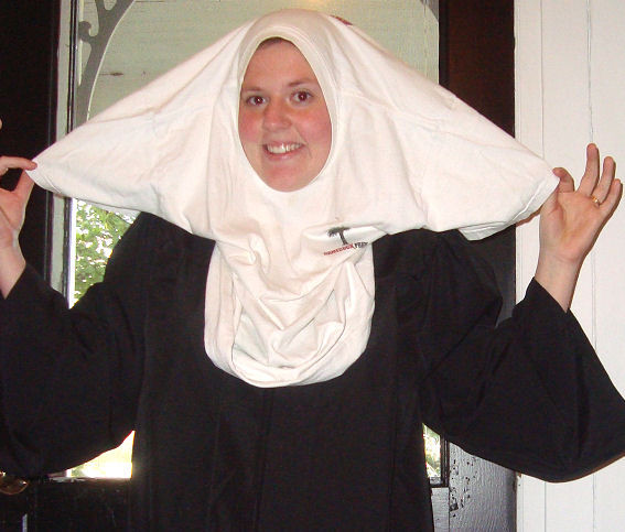 Best ideas about Nun Costume DIY . Save or Pin How to Make a Nun Costume Now.