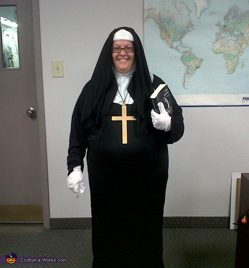 Best ideas about Nun Costume DIY . Save or Pin Naughty Nun Costume Now.