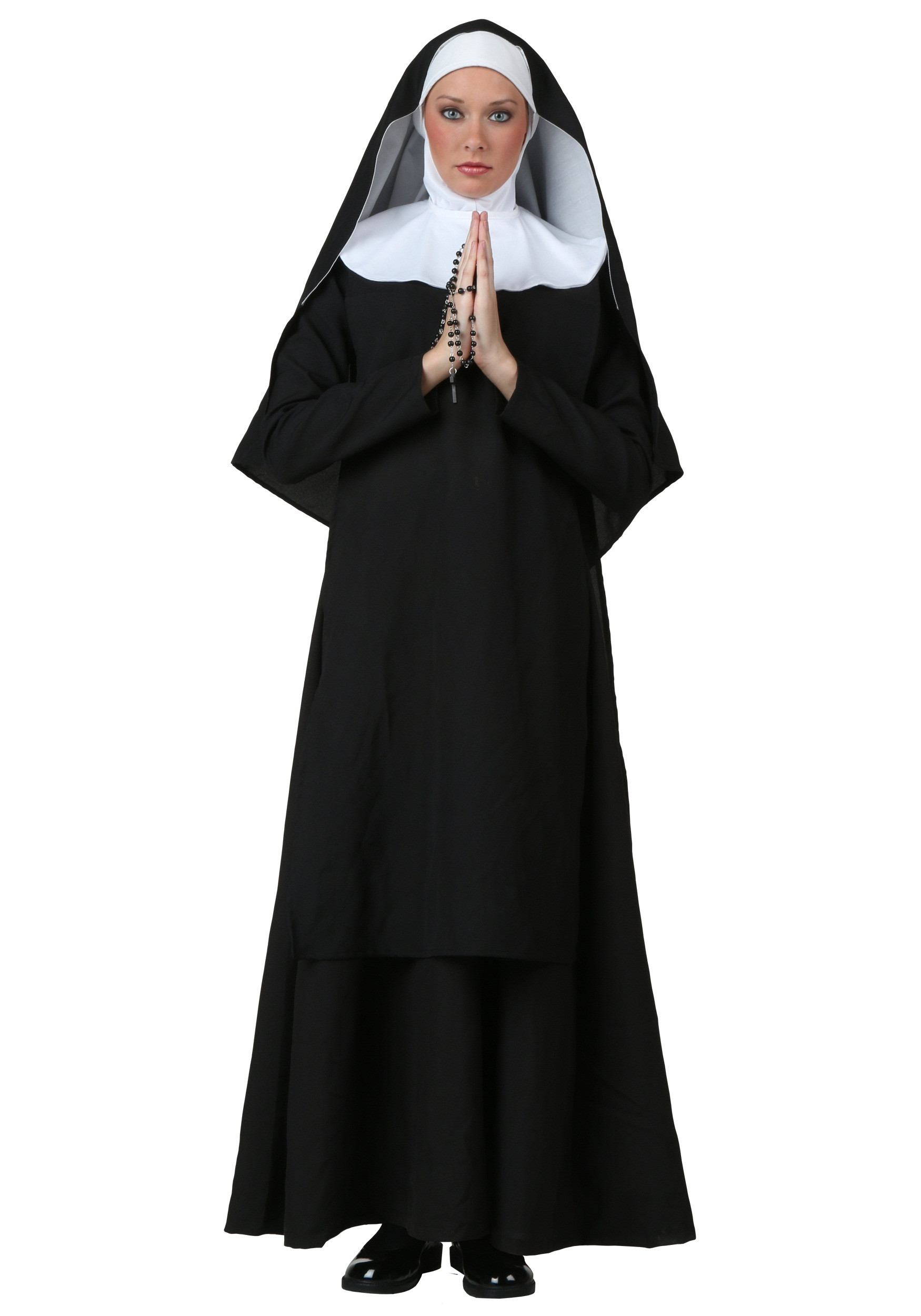 Best ideas about Nun Costume DIY . Save or Pin Plus Size Deluxe Nun Costume 1X 2X 3X 4X 5X Now.