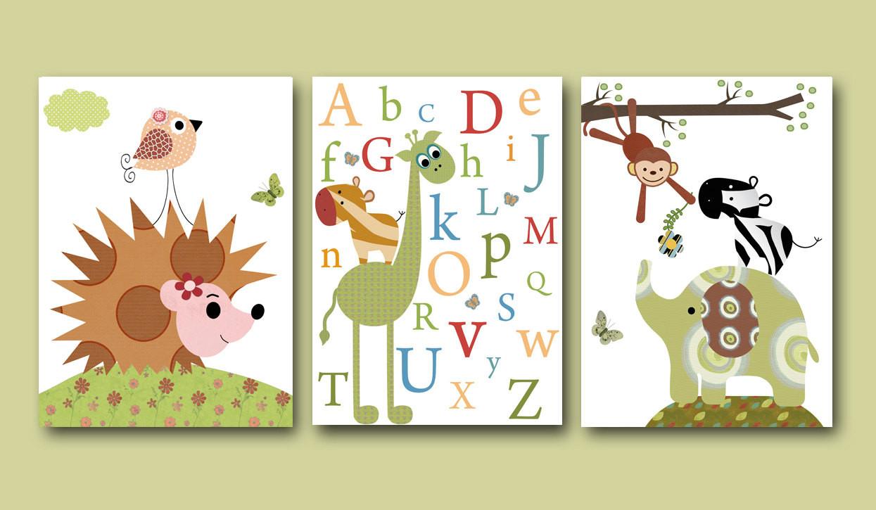 Best ideas about Nursery Wall Art . Save or Pin Baby Boy Room Decor Alphanet Nursery Wall Art Baby Boy Nursery Now.