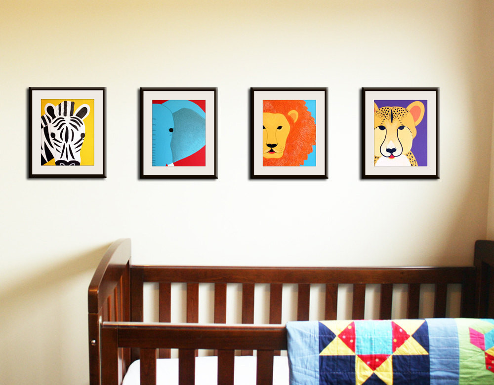 Best ideas about Nursery Wall Art . Save or Pin Safari nursery art Jungle nursery wall art SET of ANY Now.