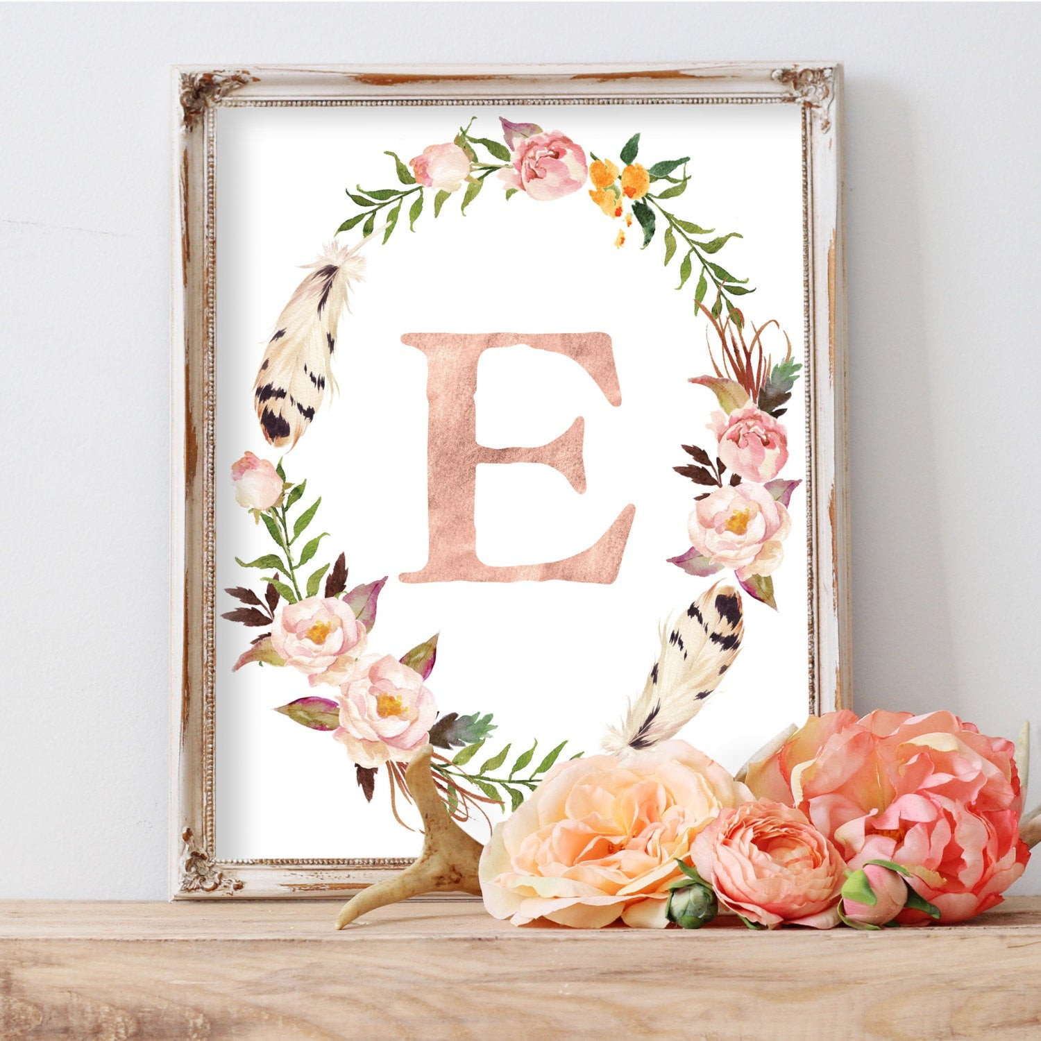 Best ideas about Nursery Wall Art . Save or Pin Nursery Print Monogram Nursery Wall Art Kids Wall Art Now.