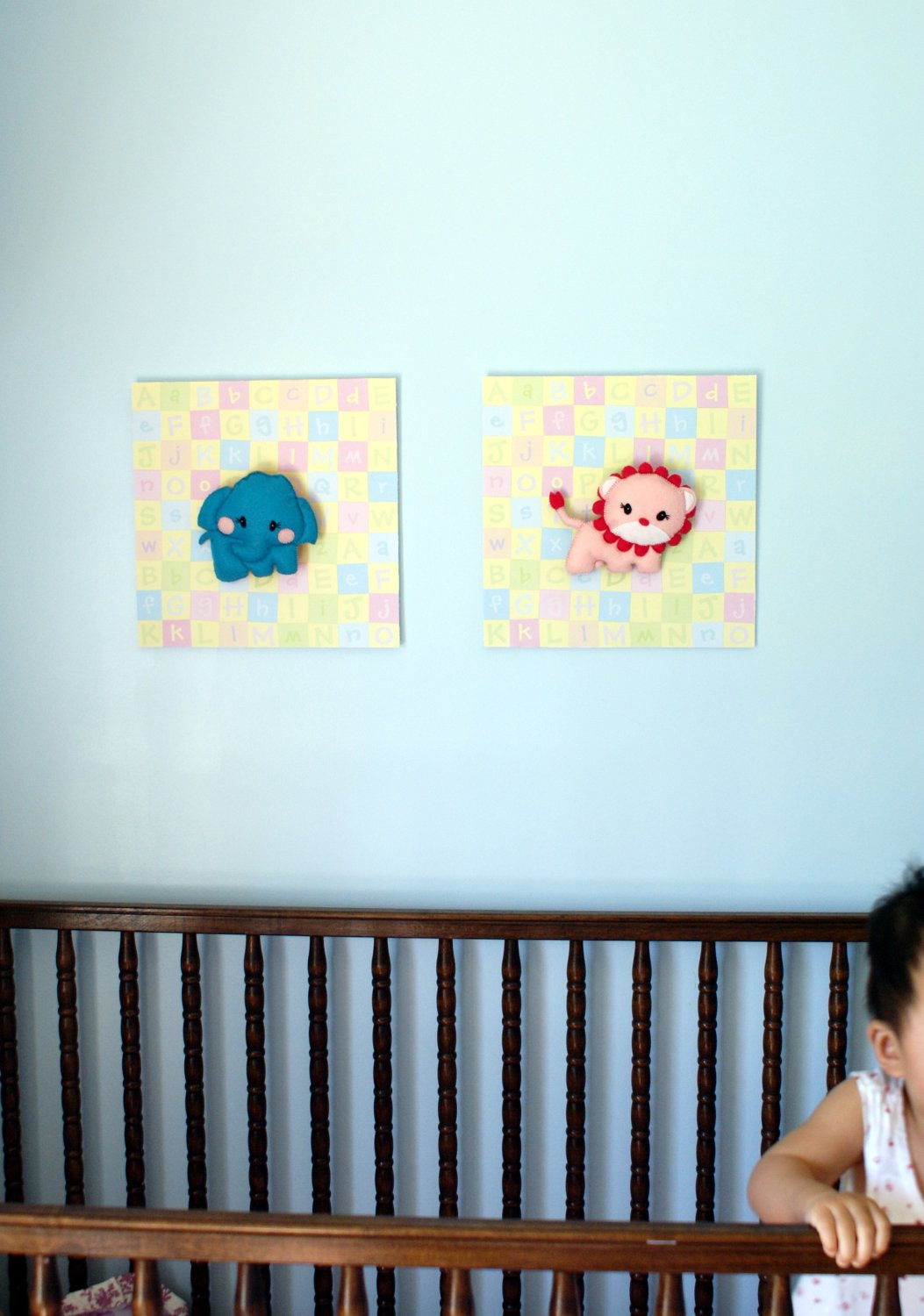 Best ideas about Nursery Wall Art . Save or Pin Tranquility Spot DIY Nursery Wall Art Now.