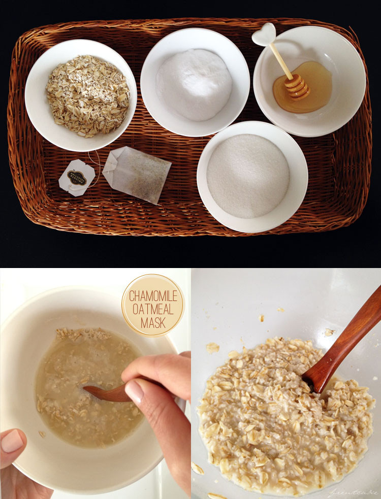 Best ideas about Oatmeal Mask DIY . Save or Pin Chamomile Oatmeal Face Mask freutcake Now.