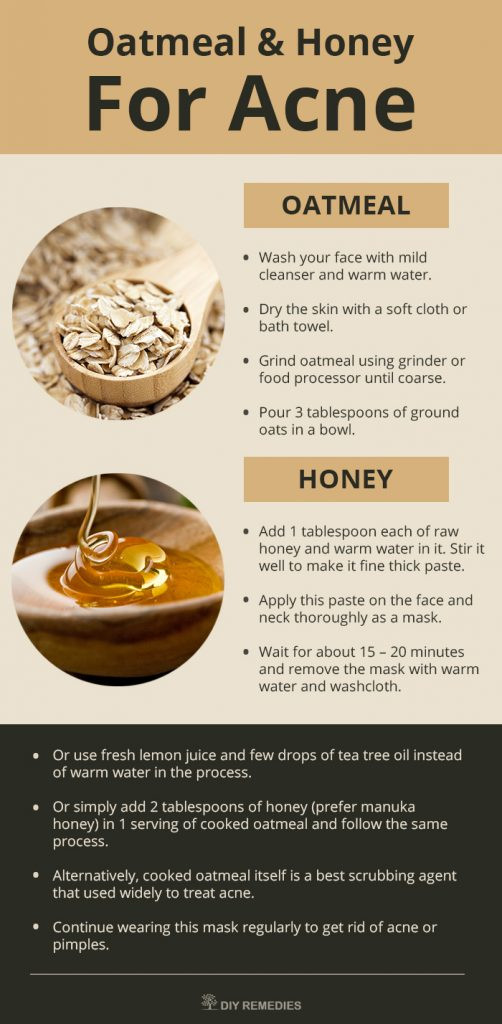 Best ideas about Oatmeal Mask DIY . Save or Pin DIY Oatmeal Face Masks for Acne Now.