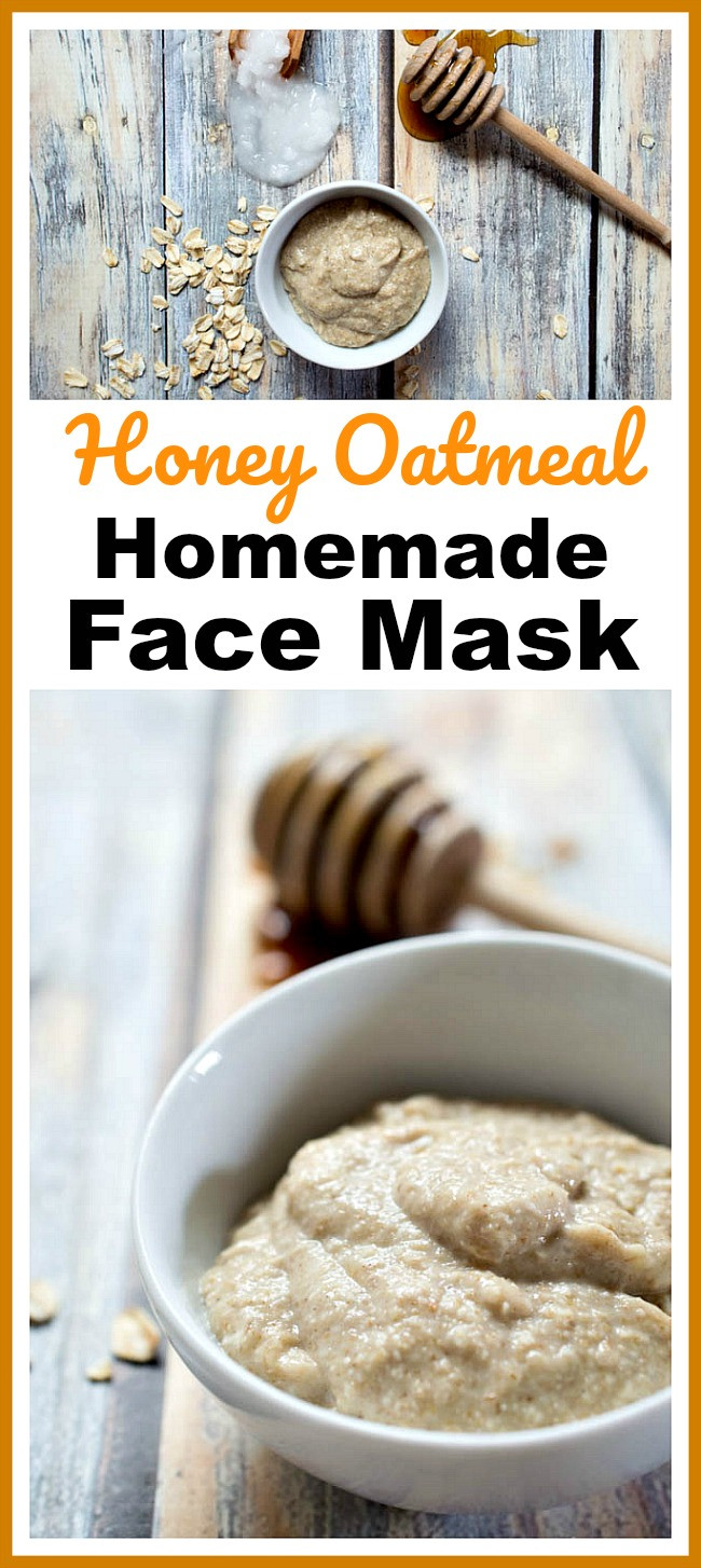 Best ideas about Oatmeal Mask DIY . Save or Pin Honey Oatmeal Homemade Face Mask Easy DIY Beauty Prodcut Now.