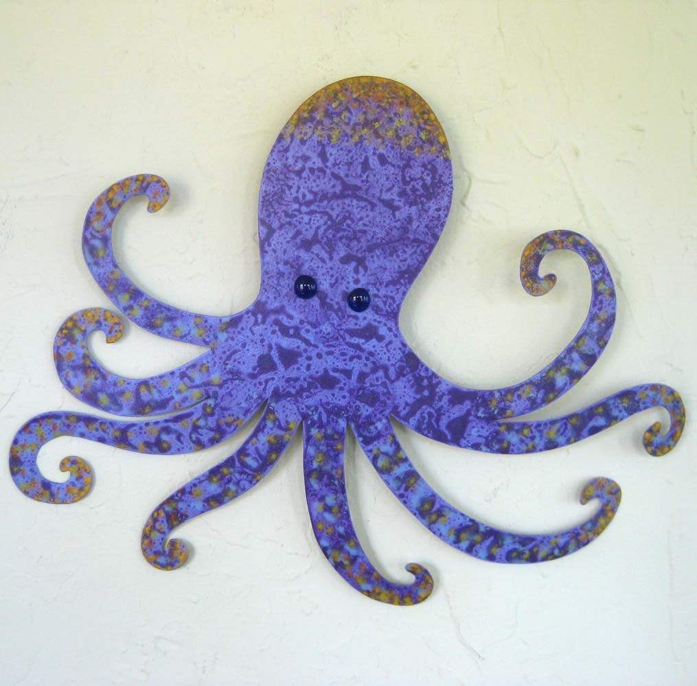 Best ideas about Octopus Wall Art . Save or Pin Metal wall art Octopus wall sculpture Otis upcycled metal Now.