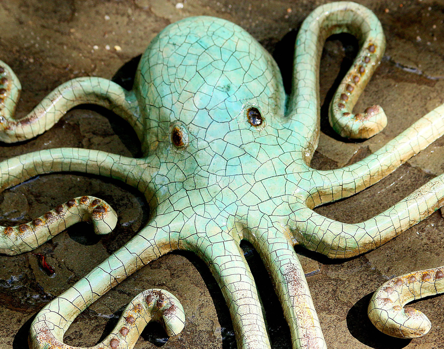 Best ideas about Octopus Wall Art . Save or Pin Sale Metal Octopus Wall Art Recycled Metal by Now.
