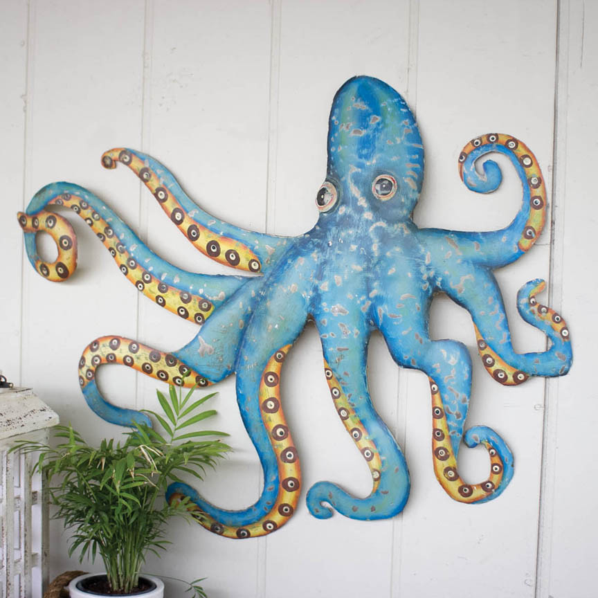 Best ideas about Octopus Wall Art . Save or Pin Octopus Wall Plaque A5650 Now.