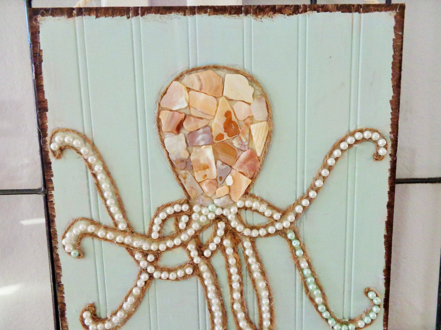 Best ideas about Octopus Wall Art . Save or Pin Octopus Art Beach Wall Decor Coastal Mixed Media by Now.