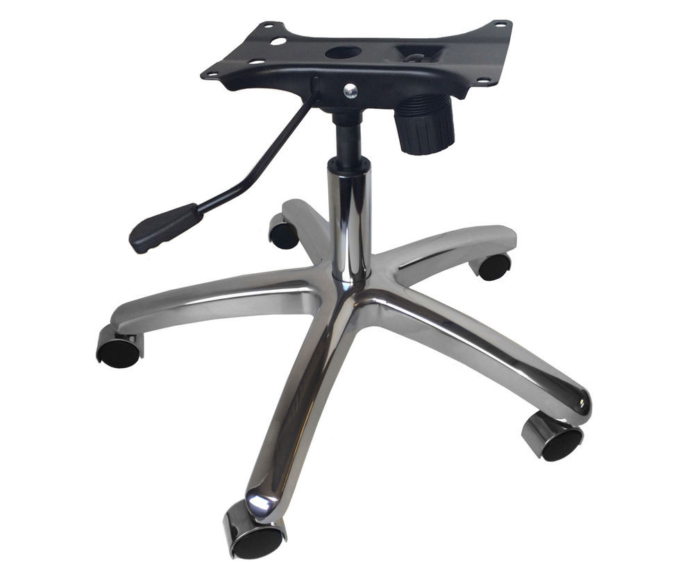 "Best ideas about Office Chair Base . Save or Pin 26"" Premium Replacement Chrome Chair Base Kit w Swivel Now."
