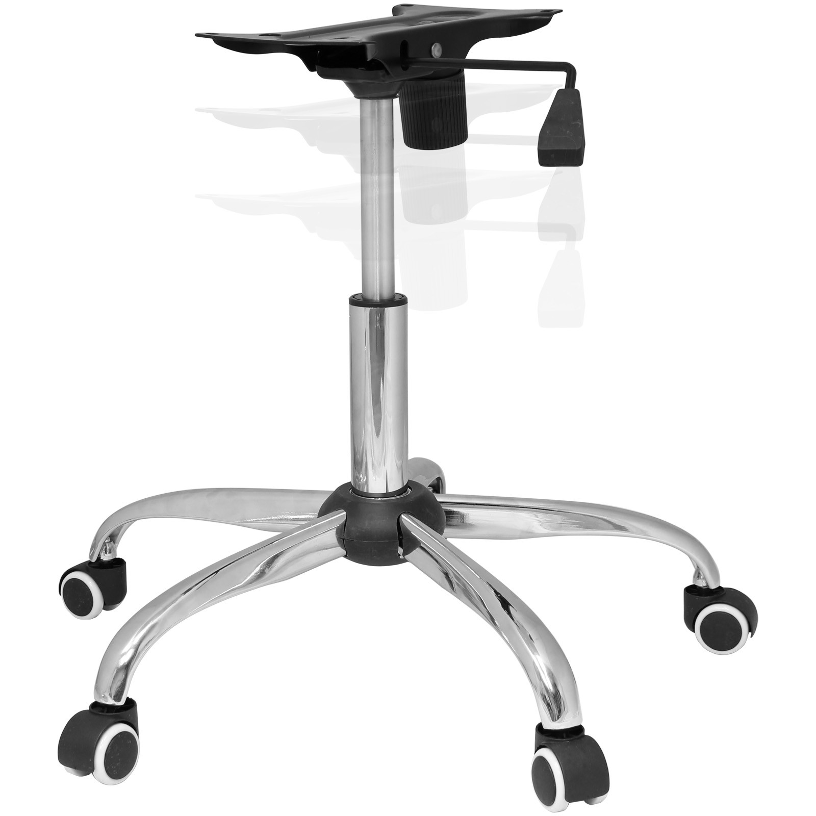 Best ideas about Office Chair Base . Save or Pin CHROME OFFICE CHAIR REFURBISHMENT KIT BASE CASTOR WHEELS Now.