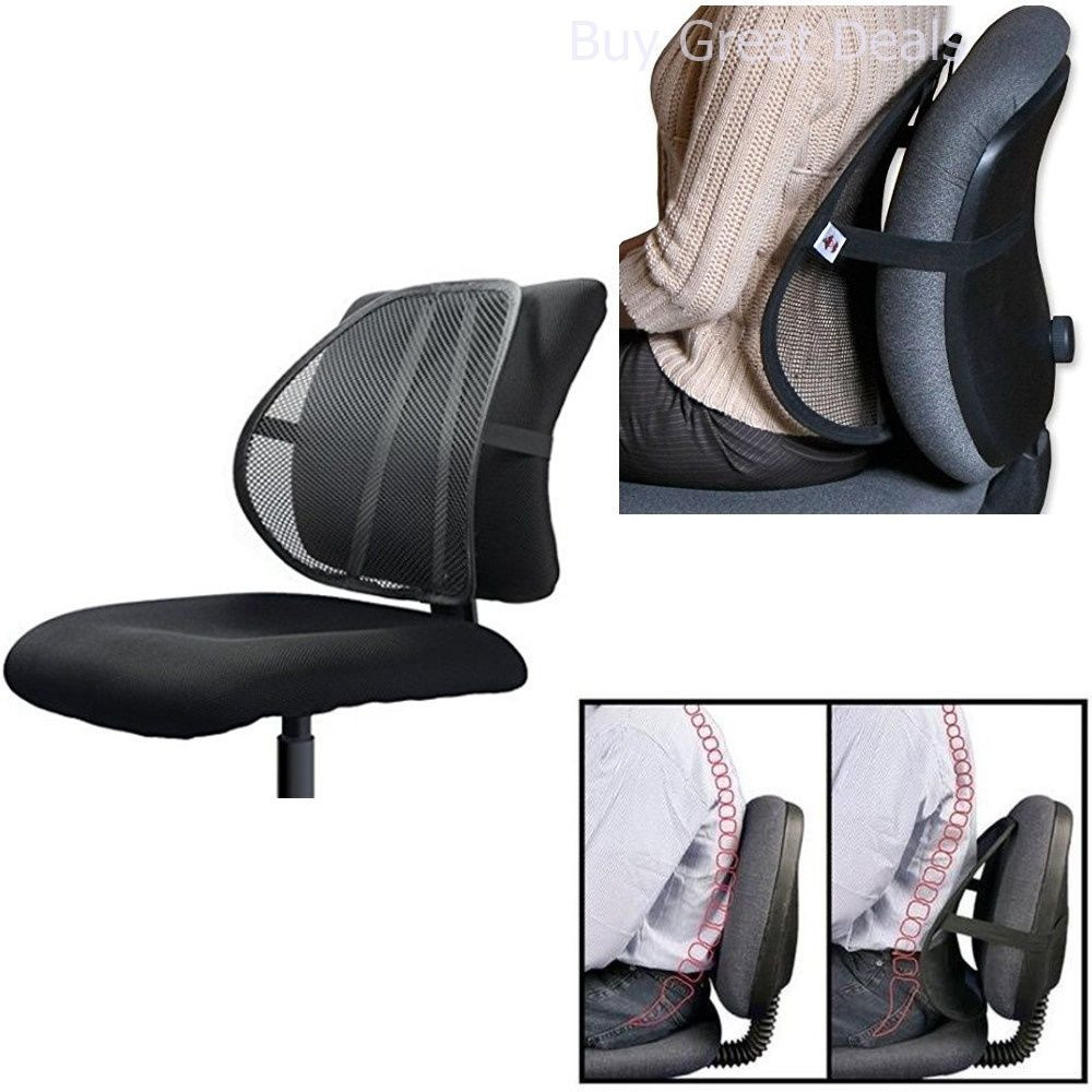 Best ideas about Office Chair Lumbar Support . Save or Pin Lumbar Support For fice Chair Car Mesh Back Pain Relief Now.