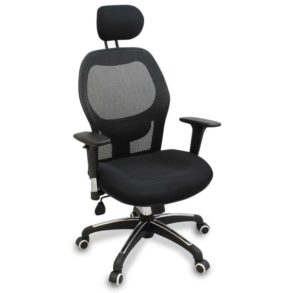 Best ideas about Office Chair Lumbar Support . Save or Pin New Mesh Ergonomic fice Chair w Adjustable Headrest Now.