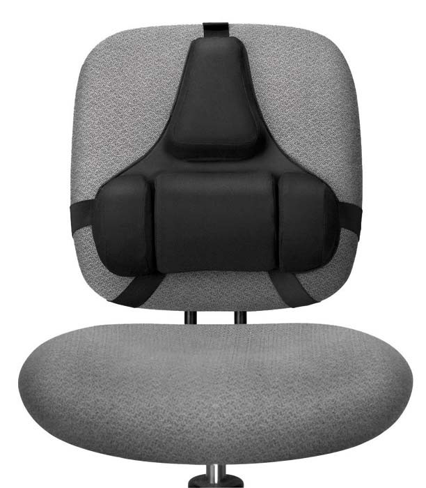 Best ideas about Office Chair Lumbar Support . Save or Pin Mid Spinal Support Chair Seat Back Lower Lumbar Cushion Now.