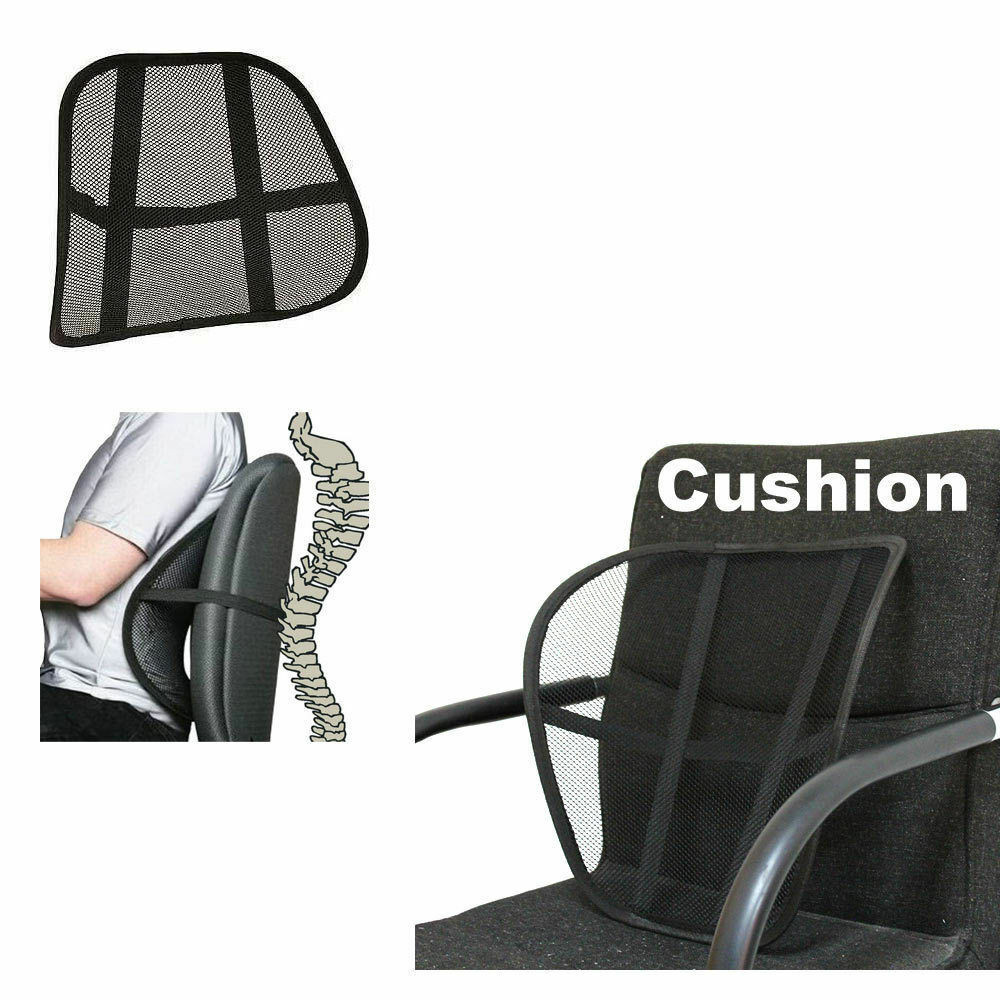 Best ideas about Office Chair Lumbar Support . Save or Pin Vent Cushion Mesh Back Lumbar Brace Support Car fice Now.