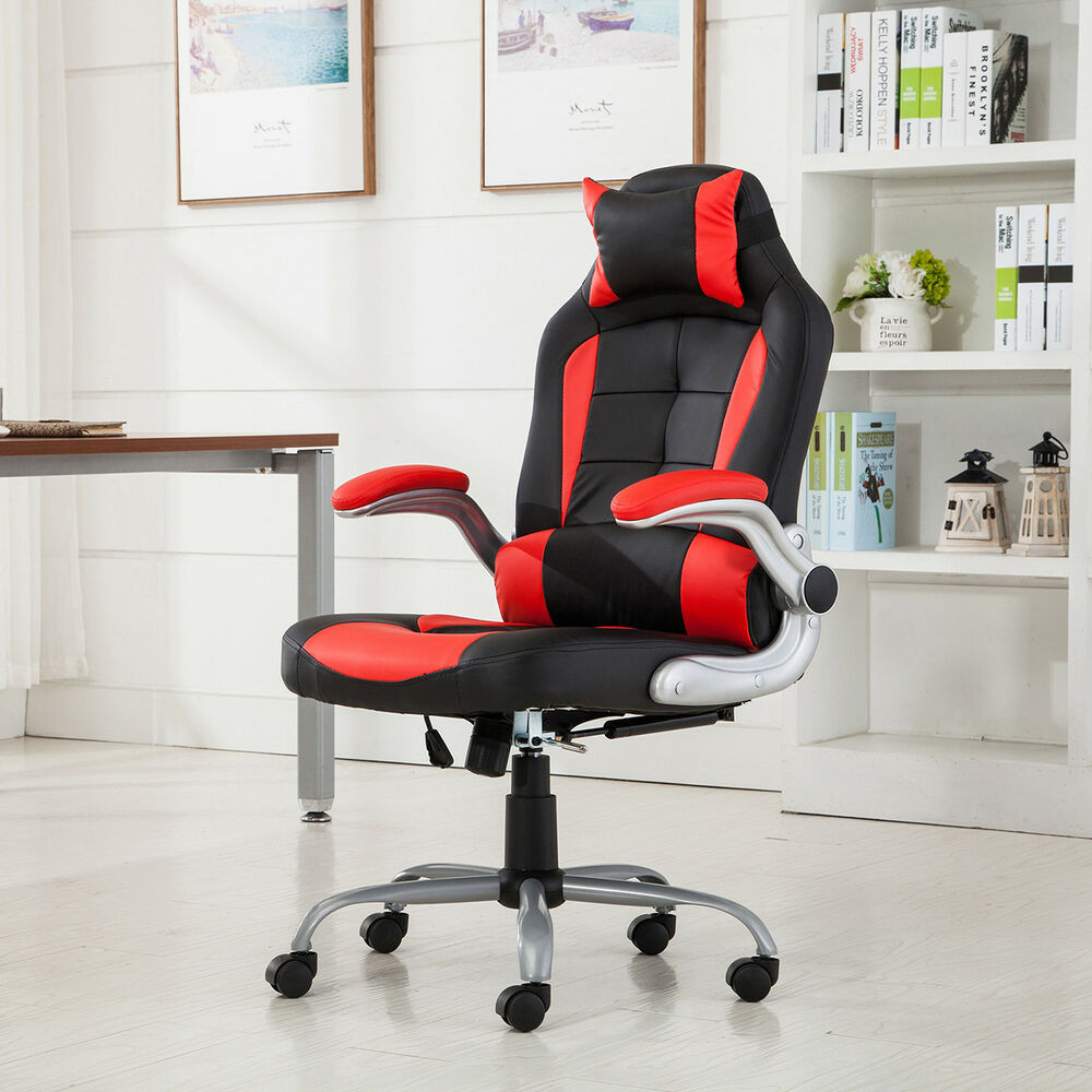 Best ideas about Office Chair Recliner . Save or Pin Racing fice Chair Recliner Relax Gaming Executive Now.