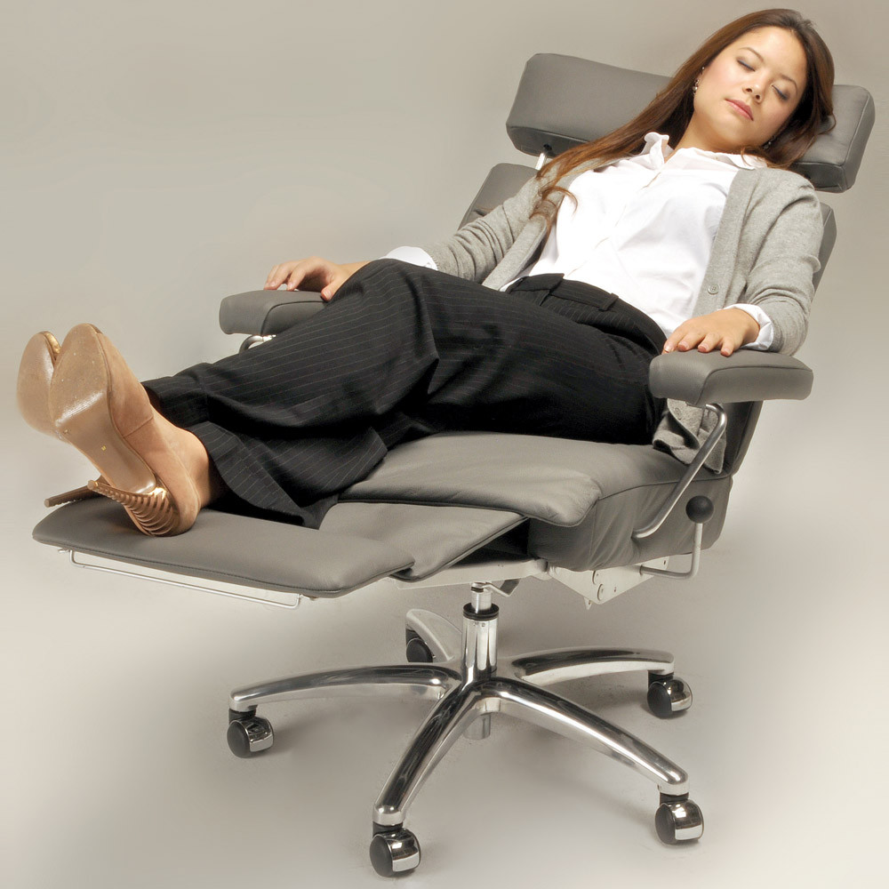 Best ideas about Office Chair Recliner . Save or Pin Adele Leather Executive Reclining fice Chair Now.
