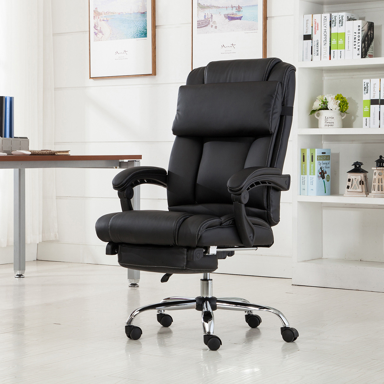 Best ideas about Office Chair Recliner . Save or Pin Executive fice Chair Ergonomic Armchair Reclining High Now.