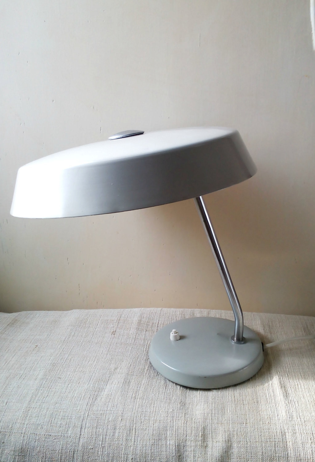 Best ideas about Office Desk Lamps . Save or Pin Vintage Bauhaus Grey Desk Lamp fice Table Lamp Light Mid Now.