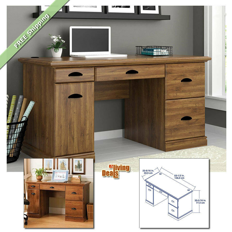 Best ideas about Office Desks For Home . Save or Pin puter Desks for Home fice with Storage Table Wood Now.