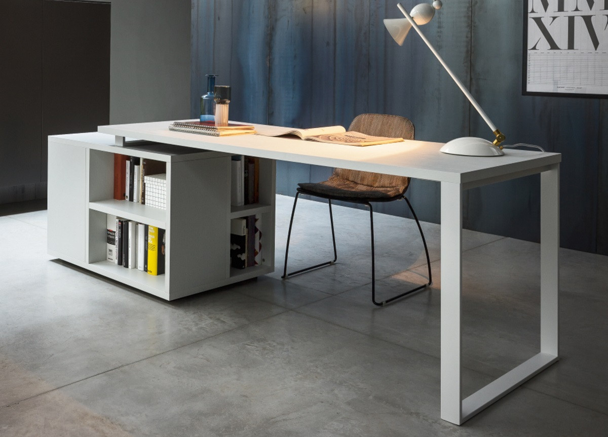 Best ideas about Office Desks For Home . Save or Pin Isola Home fice Desk Modern Home fice Desks Now.