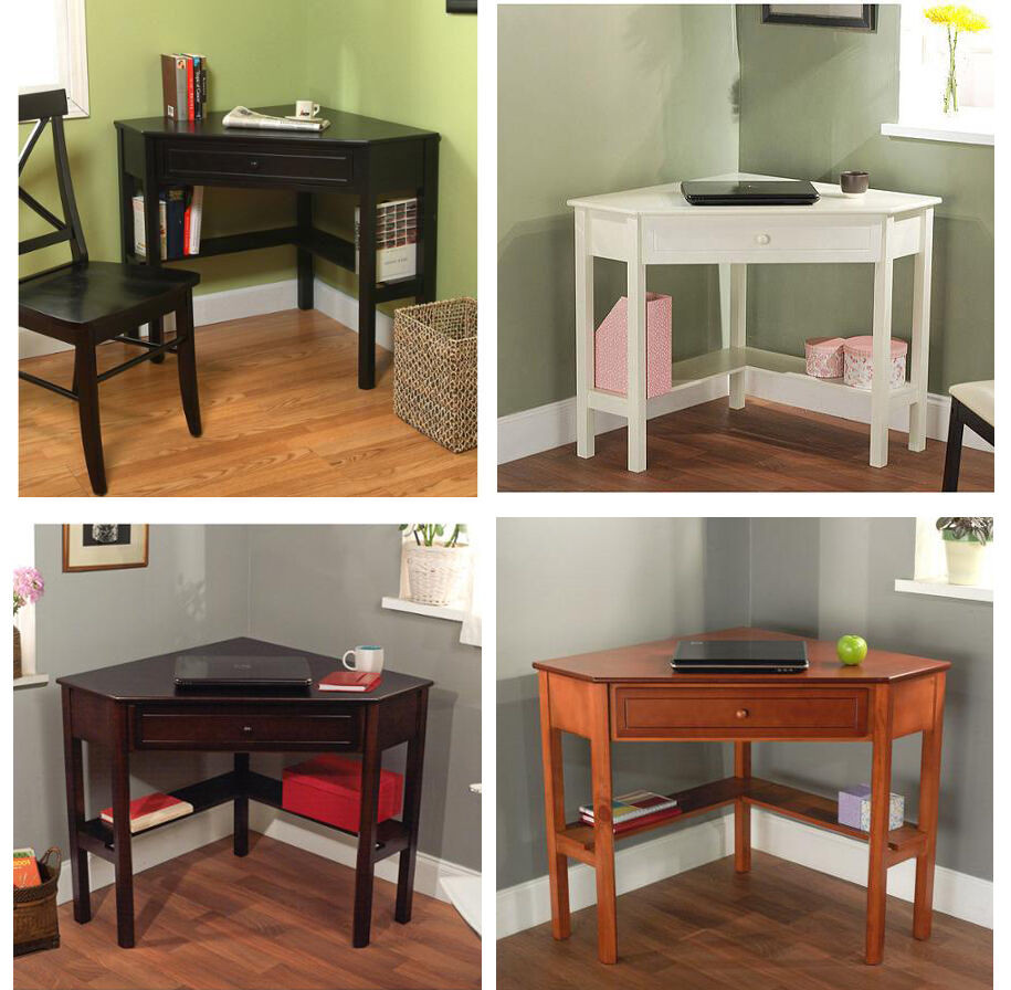 Best ideas about Office Desks For Home . Save or Pin Corner fice Desk Home Laptop Table Workstation puter Now.