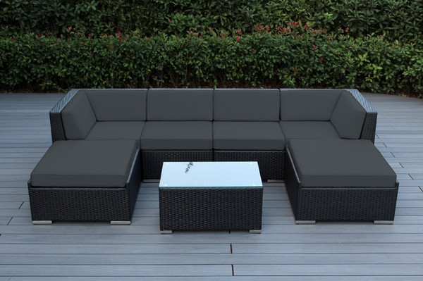 Best ideas about Ohana Patio Furniture . Save or Pin Beautiful Outdoor Patio Wicker Furniture Deep Seating 7pc Now.