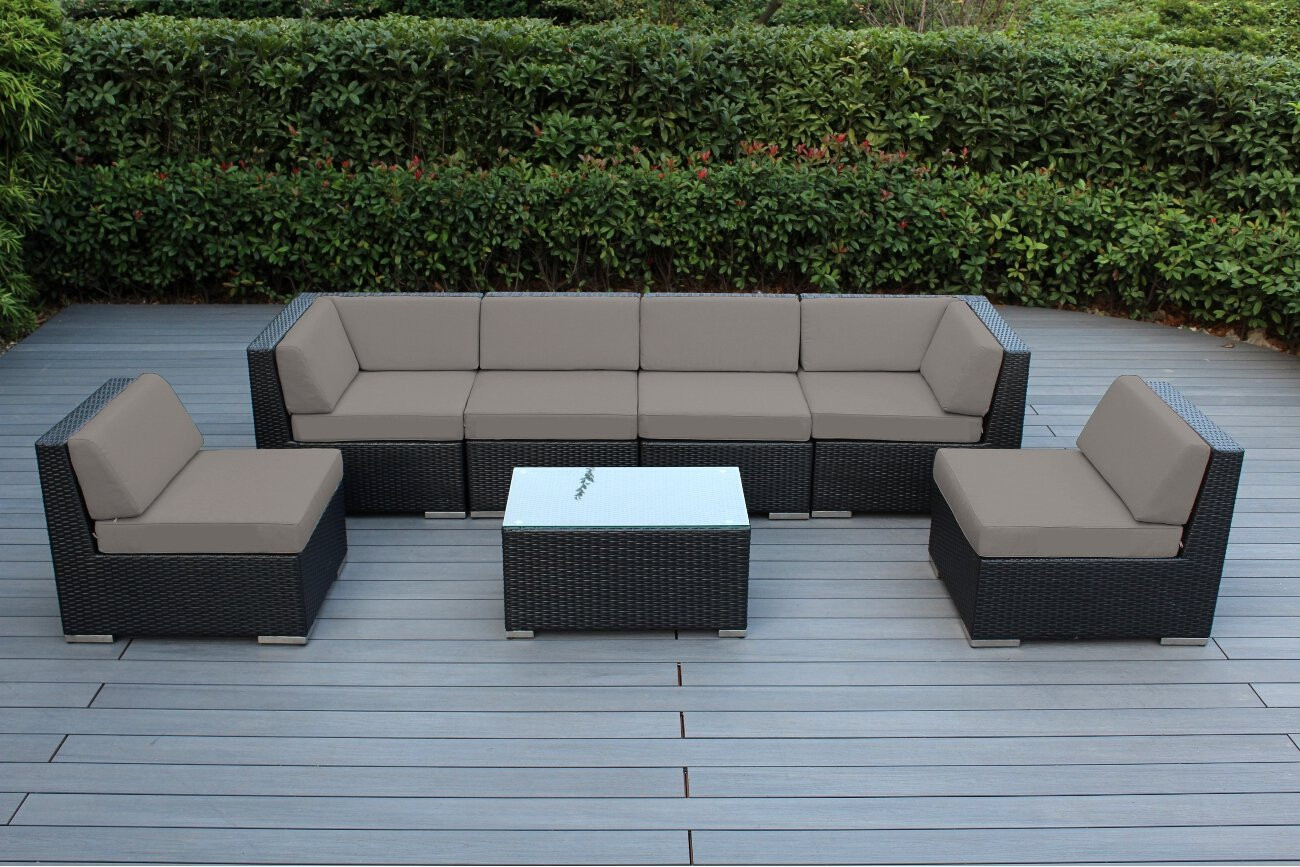 Best ideas about Ohana Patio Furniture . Save or Pin Genuine 16 Piece Ohana Wicker Patio Furniture Set Outdoor Now.