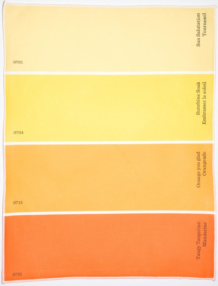 Best ideas about Orange Paint Colors . Save or Pin Paint Chip Placemat Now.