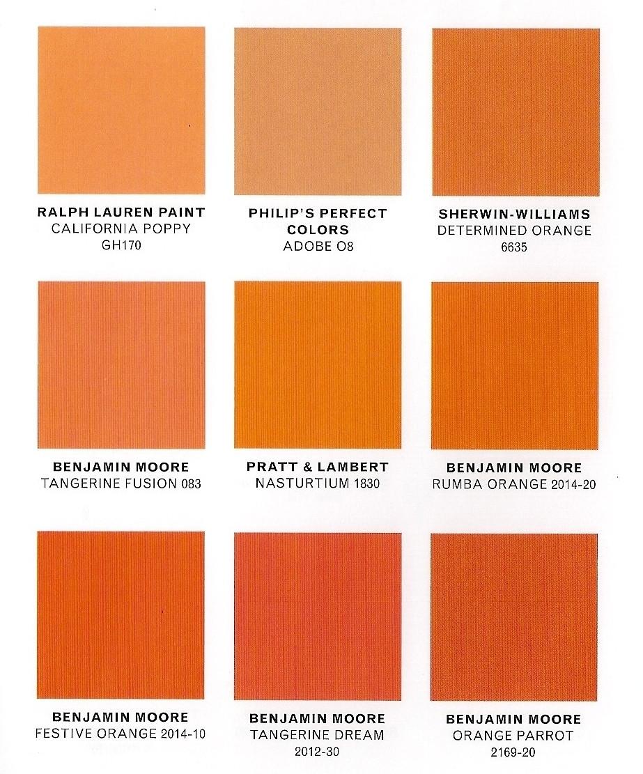 Best ideas about Orange Paint Colors . Save or Pin DESIGN GLORY COLOR PUNCH VIBRANT ORANGE Now.