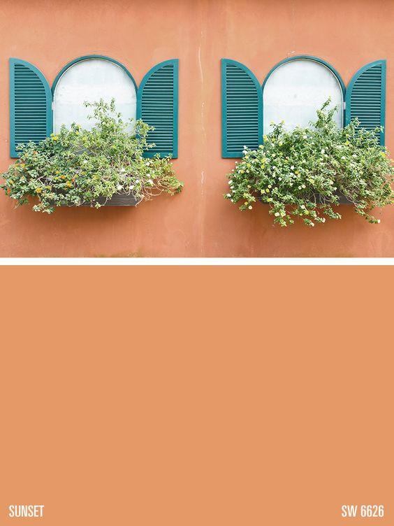 Best ideas about Orange Paint Colors . Save or Pin Paint colors Paint and Orange paint colors on Pinterest Now.