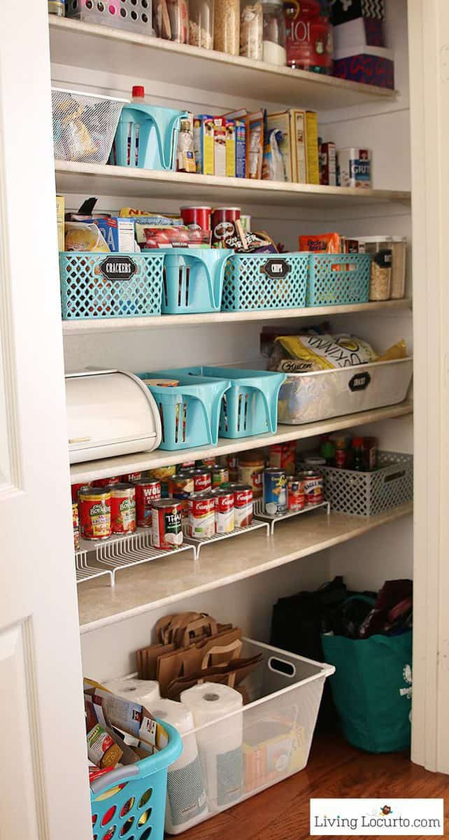 Best ideas about Organizing A Pantry . Save or Pin Kitchen Pantry Organization Ideas Now.